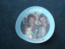 1985 7-11 Seven Eleven Rock Stars Disc The Police Sting