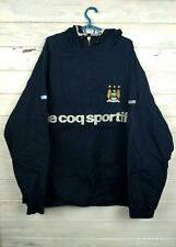 Manchester City Jacket Size L Anorak Le Coq Sportif Football Soccer