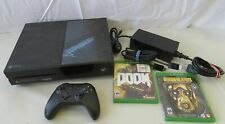 Microsoft Xbox One Model 1540 (1 TB, Black) Bundle with Doom & Borderlands