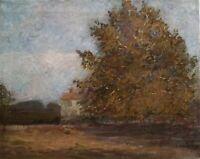 Outstanding Pennsylvania Impressionist School O/C Autumn Scene, Signed