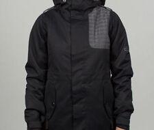686 Women 4eva-after Snowboard Jacket (S) Black Diamond Dobby