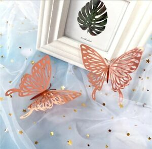 Wall Butterfly Stickers 3d Decor Home Room Decals Art Diy Decal 12pcs Decoration