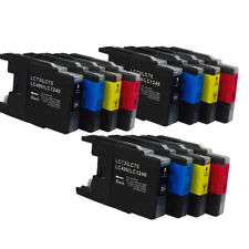 12x Ink Cartridges LC75 LC1240 Compatible For Brother MFC-J432W MFC-J430W Inkjet