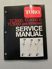 Toro TC3000, TC4000, & TC5000 Gas Trimmer Service Manual