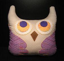 Hand-Crafted OWL Decorative Pillow #OP36 (L) - (plush/disney/bird/cat/figure)