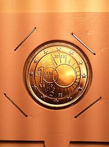 2 EURO BELGIQUE 2013 100 ANS INSTITUT METEO COMMEMORATIVE NEUVE
