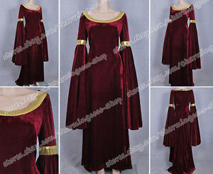 The Lord Of The Rings Arwen Kleid Cosplay Kostüm Halloween Party gute Qualität