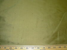 """~4 2/8 Yds~100% Silk ~""""With Gold Sparkles""""~Drapery Upholstery Fabric For Less~"""