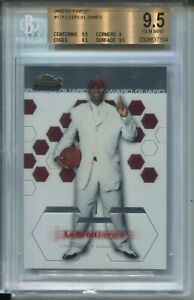 2002 Finest Basketball 178 Lebron James Rookie Card XRC Graded BGS Gem Mint 9.5