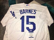 Austin Barnes Signed Los Angeles Dodgers Jersey Superstar Beckett