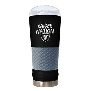 Great American Oakland Raider Nation 24oz Draft Beverage Tumbler