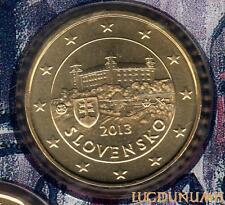Slovaquie - 2013 - 50 Centimes d'euro FDC Provenant BU 258000 exemplaires - Slov