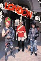Postcard PUNKS on Horse Guard Parade, London by J.Arthur Dixon