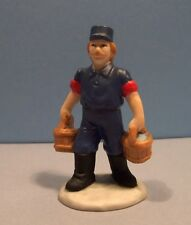 Lefton Colonial Village #10616 Fireman Bob - New Old Stock