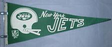 "New York Jets NFL Vintage Circa 1967 Team Helmet Logo Football 29"" Pennant"