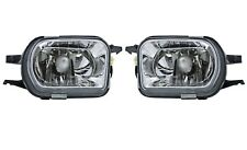 Pair Set of 2 Front Hella Oval Fog Lights Lamps for Mercedes-Benz W203 C-Class