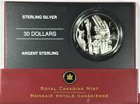 2005 Canada Totem Pole $30 commemorative silver Coin With CoA  #34805