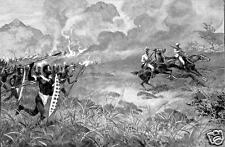 Matabele Revolt British Empire Ndebele Zimbabwe 1897, Art Print 7x5 inch