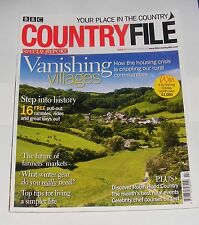 BBC COUNTRYFILE FEBRUARY 2009 - VANISHING VILLAGES/DISCOVER ROBIN HOOD COUNTRY
