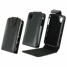 Wallet A Flap Case Flip Case Flip Box Cover Vertical Eco-Leather Black