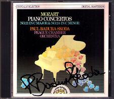 Paul BADURA-SKODA Signiert MOZART Piano Concerto No.21 & 24 Klavierkonzerte CD