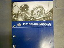 2008 Harley Davidson FLT Police Models Parts Catalog Manual FACTORY OEM BOOK NEW