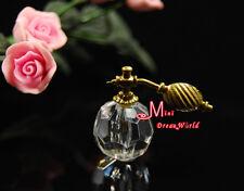 1/12 Dollhouse Miniature Bathroom Bedroom Transparent Perfume