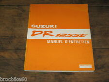 MANUEL REVUE TECHNIQUE D ATELIER SUZUKI DR 125 SE DRSE 1993->