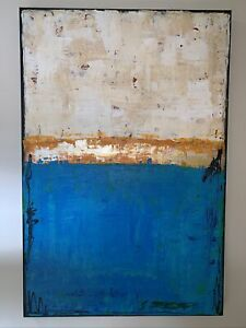 SUE BETTS Abstract Landscape