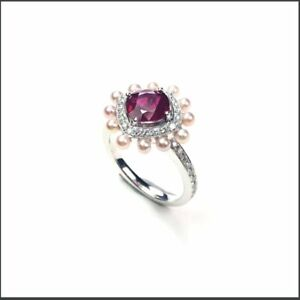 【KOOJADE】 Unheated Natural Pigenon's blood Ruby Ring 《US SIZE:6.5》