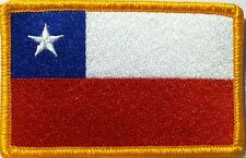 CHILE Velcro Patch With VELCRO® Brand Fastener Military Tactical Emblem