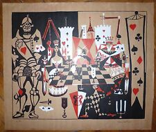Lartigue Dany Lithographie originale signée expressionnisme Saint Tropez Paris