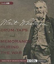 NEW Drum-Taps and Memoranda During the War by Walt Whitman