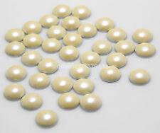 MEZZE PERLE PerlaTermoadesive crema avorio 6mm 100pz adesive naturale hotfix