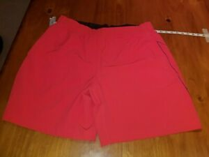 MENS UNDER ARMOUR STRETCH WOVEN RUNNING SHORTS  XL  OPTIC ORANGE  NWOT