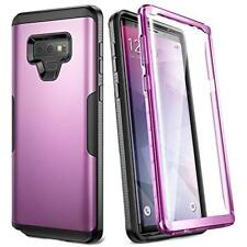 Full Body Rugged With Screen Protector Case Cover Samsung Galaxy Note 9 Purple