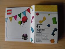 LEGO® 5004931 Geburtstagkarte mit Figur und Torte Neu & Ovp