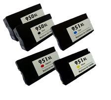 5 cartuchos gen impresora 950 XL HP 951 XL OfficeJet pro 8100 pro 251 DW PREMIUM