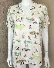 Paul Smith Principal Extérieur Loisirs Graphiques T Shirt TAILLE S/M Détail