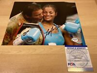 Laila Ali Boxer Muhammad Autographed Signed 8X10 Photo PSA/DNA COA