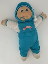 Vintage 1878 1982 Cabbage Patch Kids Doll Baby Boy Bald Blue Eyes