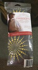 Cover in Style By Hooter Hiders Nursing Cover Yellow Gray Firework Sunshade