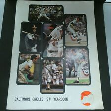 1971 Baltimore Orioles Official Yearbook