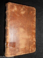 Leather 1700-1799 Antiquarian & Collectable Books
