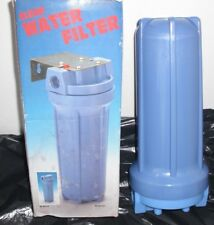 "Water Filter Housing 10in .10"" in line water filter housing"