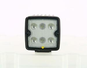 Genuine JCB Work Light LED 12/24V SQ SR 2800 Part No. 400/S8067
