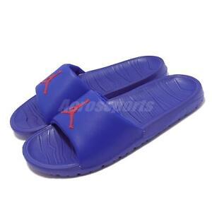 Nike Jordan Break Slide Blue Red Men Summer Slip On Sandal AR6374-416