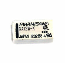 100pc TAKAMISAWA NA12W-K Relay DPDT 2C 12VDC Coil JAPAN