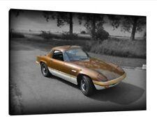 1972 Lotus Elan Sprint 30x20 pulgadas lienzo-Impresión Pared Arte enmarcado cuadro