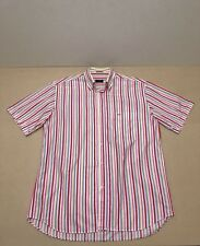 PAUL & SHARK POLO SHIRT MENS ~ SZ 42 OR EXTRA LARGE ~ GREAT COND STRIPES PRINT